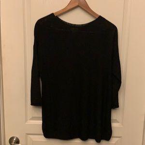 J Jill Sheer Sweater 3/4 Sleeve